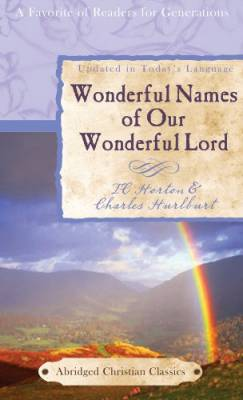 Cover for Wonderful Names of Our Wonderful Lord